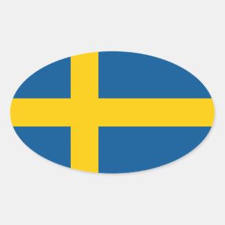 Bandeira oval da etiqueta | do carro da bandeira adesivo oval