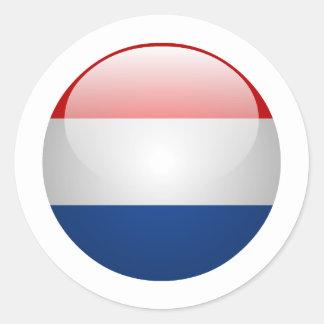 Bandeira Países Baixos Adesivo