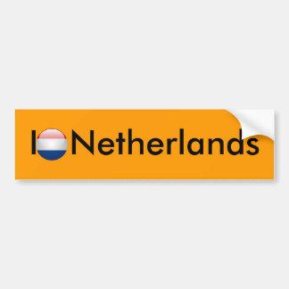 Bandeira Países Baixos Adesivos