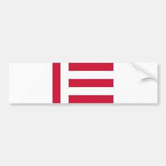 Bandeira Países Baixos da cidade de Eindhoven Adesivo Para Carro