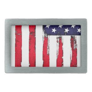 Bandeira patriótica americana do Grunge