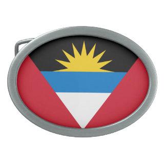 Bandeira patriótica de Antígua e de Barbuda