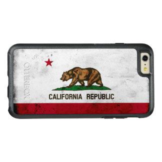 Bandeira patriótica do estado de Califórnia do