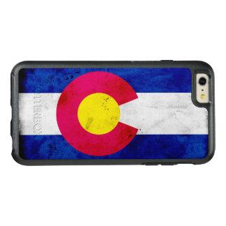 Bandeira patriótica do estado de Colorado do
