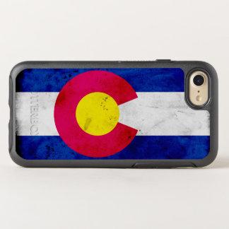 Bandeira patriótica do estado de Colorado do Capa Para iPhone 8/7 OtterBox Symmetry