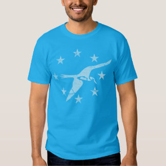 Bandeira patriótica do vintage do corpus Christie Tshirt