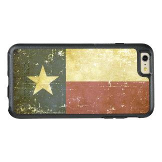 Bandeira patriótica gasta do estado de Texas
