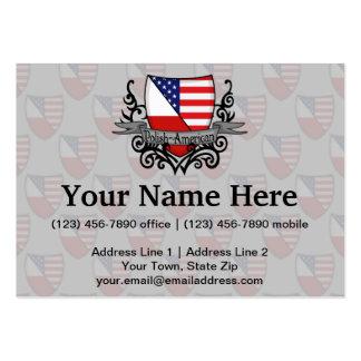 Bandeira Polimento-Americana do protetor Cartão De Visita Grande