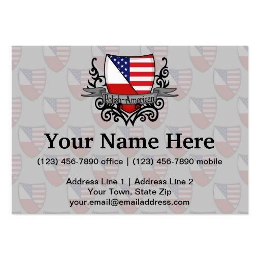 Bandeira Polimento-Americana do protetor Modelos Cartoes De Visita