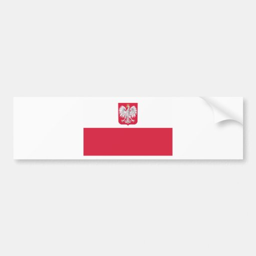 Bandeira polonesa adesivos