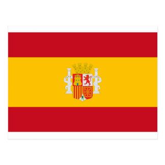 Bandeira republicana espanhola - bandera República Cartão Postal