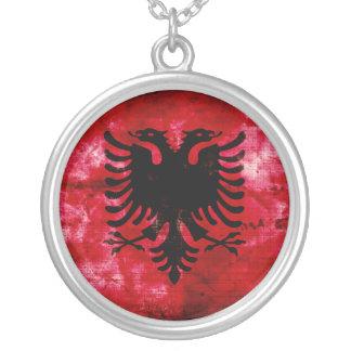Bandeira resistida de Albânia Bijuteria Personalizada