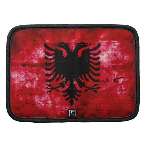 Bandeira resistida de Albânia Organizador