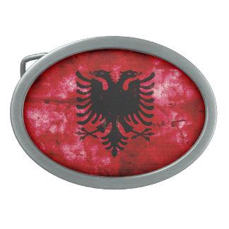 Bandeira resistida de Albânia