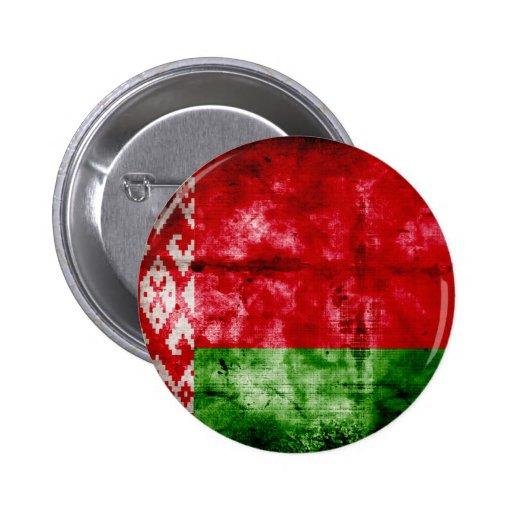 Bandeira resistida de Belarus Boton