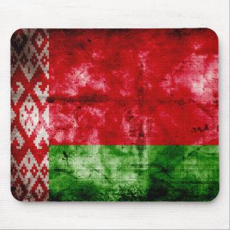 Bandeira resistida de Belarus Mousepads