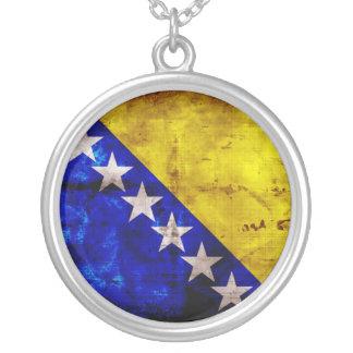 Bandeira resistida de Bósnia Bijuteria