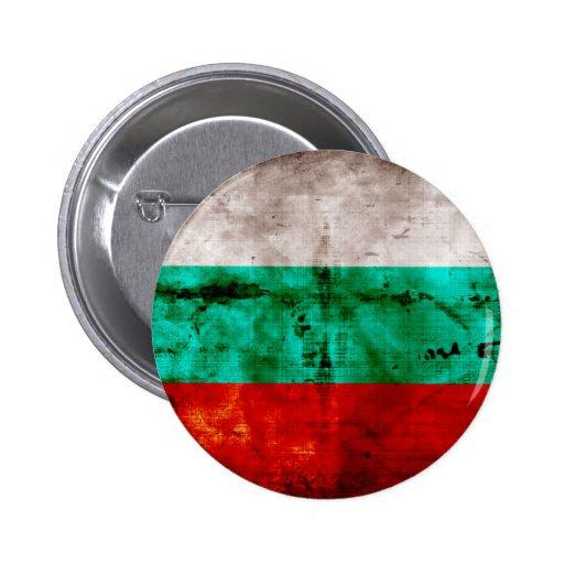 Bandeira resistida de Bulgária Pins
