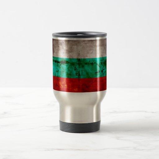 Bandeira resistida de Bulgária Caneca