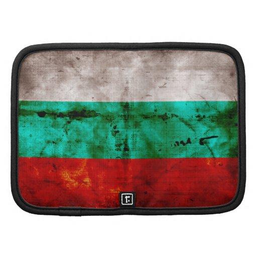 Bandeira resistida de Bulgária Organizador