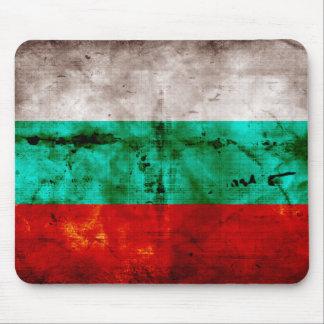 Bandeira resistida de Bulgária Mouse Pad