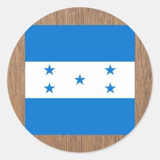 Bandeira retro de Honduras Adesivo