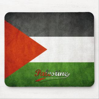 Bandeira retro de Palestina Mouse Pad