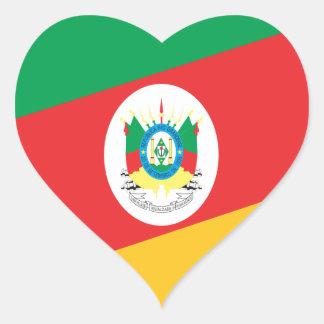 Bandeira Rio Grande do Sul  Brasil Adesivo