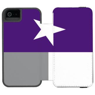 Bandeira roxa de Texas