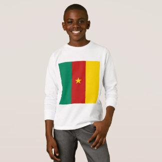 Bandeira simples de República dos Camarões, camisa