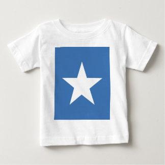 Bandeira somaliana camiseta para bebê