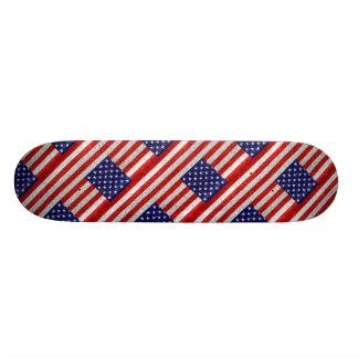 Bandeira suja dos EUA Shape De Skate 20,6cm