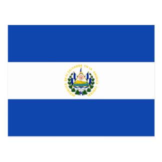 Bandeira SV de El Salvador Cartoes Postais