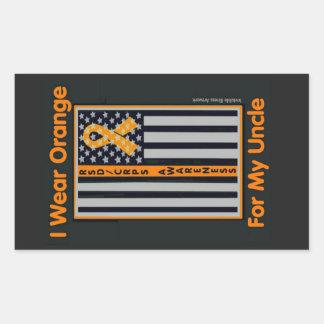 Bandeira/tio… RSD/CRPS Adesivo Retangular