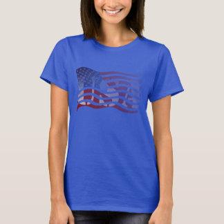 Bandeira v. 7 dos EUA T-shirts