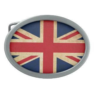 Bandeira velha Union Jack de Reino Unido do Grunge