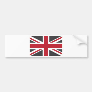 Bandeira vermelha cinzenta legal de Union Jack Ing Adesivo Para Carro