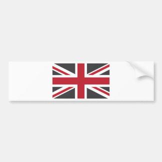 Bandeira vermelha cinzenta legal de Union Jack Ing Adesivos