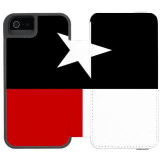 Bandeira vermelha e preta de Texas