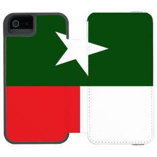 Bandeira vermelha e verde de Texas