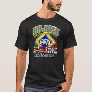 Bandeiras de Jiu-Jitsu Camiseta
