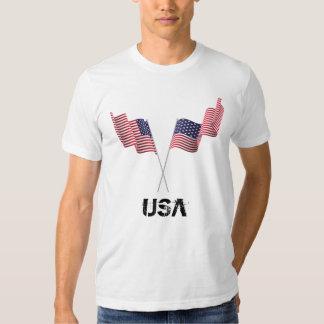 Bandeiras dos EUA Camisetas
