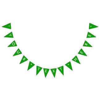 Bandeirinha A cor sólida simplesmente verde personaliza-o