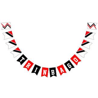 Bandeirinha Aniversário feliz da independência TRINBAGO