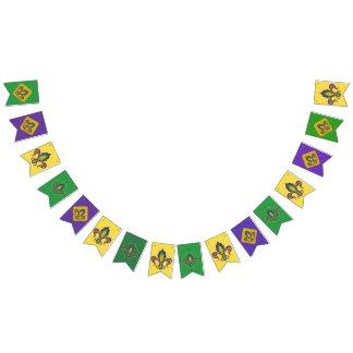 Bandeirinha Flor de lis do carnaval