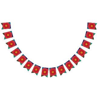 Bandeirinha Flor do Gerbera
