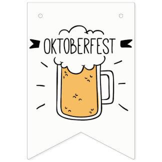 Bandeirinha Oktoberfest Beerfest