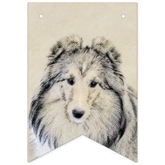 Bandeirinha Sheepdog de Shetland