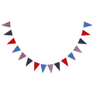 Bandeirinha Tema do partido de Puerto Rico: Teste padrão