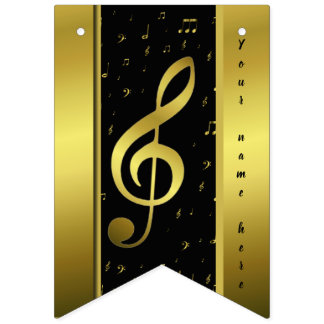 Bandeirinha templare do nome do notesn da música do ouro